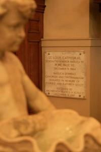 basilica symbols plaque